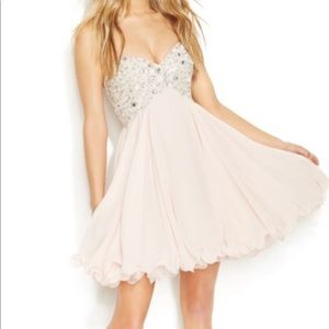 Baby Pink Homecoming Dress!
